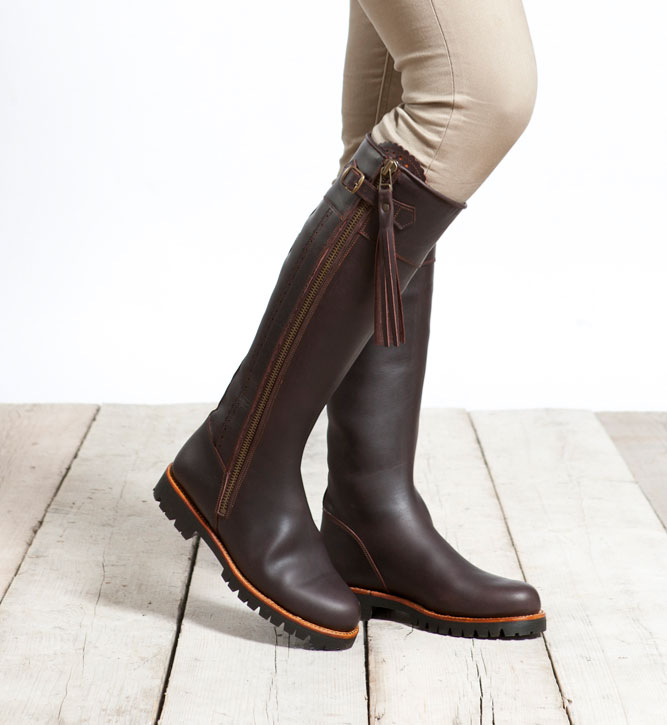 outdoor laarzen dames wijde schacht