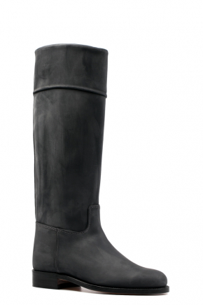 bruine hoge laarzen mannen